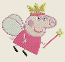 Peppa Pig Embroidered Iron On Patch