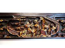 "Antique Chinese Wood  Wall Panel 31.1/2""W  (Dra19c) (#ff103)"