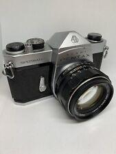 Asahi Pentax Spotmatic SP 35mm SLR Film Camera W/Super Takumar 50mm F1.4