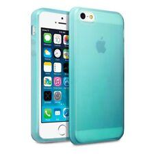 TPU Gel Silicone Rubber Slim Soft Thin Jelly Case Blue for Apple iPhone SE/5/5S