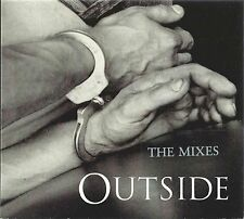 GEORGE MICHAEL - OUTSIDE (THE MIXES) 1998 UK CD SINGLE CARDBOARD DIGIPAK EPIC