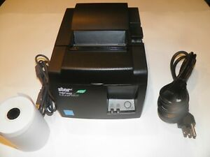 Star Micronics TSP100 143IIU  USB Thermal POS Receipt Printer w power cord