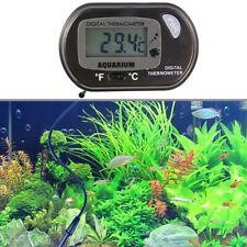 LCD Digital Fish Tank Reptile Thermometer Meter Water Aquarium USA Temperature