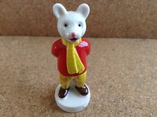 Wade Rupert The Bear White Base 2.5 Inches High comes with COA