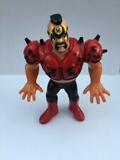 Vintage Titan Sports INC WWF HAWK Head Shrinker Figure Hasbro - 1991