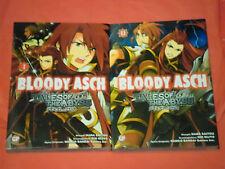 BLOODY ASCH- tales of abyss - SERIE COMPLETA  N°1/2  -DI:HANA SAITOU - MANGA GP