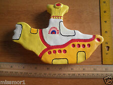 "The Beatles 1990s Yellow Submarine paperweight 7"" thick"