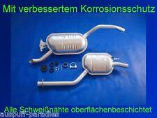 Abgasanlage Auspuff Mercedes Benz Stufenheck W124 200D / E 200 D & 250 D +Kit
