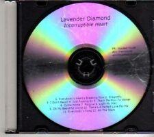 (CX377) Lavender Diamond, Incorruptible Heart - 2012 DJ CD