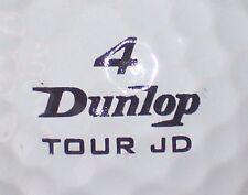 JOHN DALY TOUR JD DUNLOP #4  SIGNATURE LOGO GOLF BALL