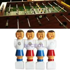 4pcs Rod Foosball Soccer Table Football Men Player Replacement Parts New