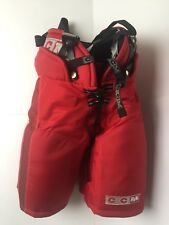 Ccm Super Tacks 892 Player Hockey Pants Junior Size Medium Red