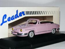 Leader Resin 2195 1964 Panhard PL-17 Cabriolet Mauve 1/43