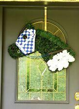 BELMONT STAKES NY Derby Horse Race Wreath Secretariat Door Decor