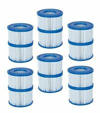 BESTWAY COLEMAN LAZY SPA POOL VI FILTER PUMP REPLACEMENT CARTRIDGE 12 PACK 58323
