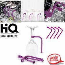 4PCS Stemware Saver Flexible Dishwasher Silicone For Safer Wine Glasses Holder