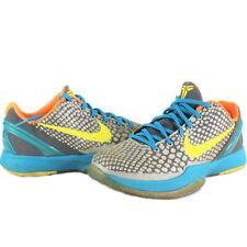 Nike Kobe 6 VI Helicopter Lakers Mamba Yellow Teal Orange 429913-007 Size 7Y