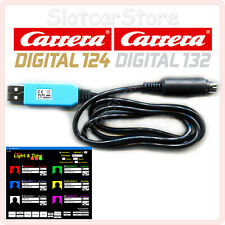 Light&Time Carrera Digital 124/132 Zeitmessung USB-Kabel & Renn-Software für CU