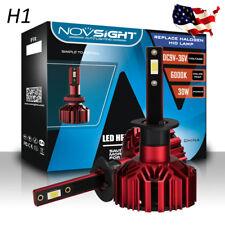 NOVSIGHT Upgrade H1 10000LM LED Headlight Bulb Conversion Kit Hi/Low Beam 6000K