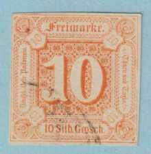 GERMAN STATES - THURN AND TAXIS 14  USED - NO FAULTS  EXTRA FINE!