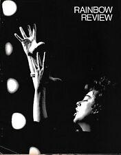 Judy Garland 1972 Rainbow Review fan club program