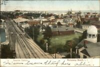Rockaway Beach Long Island NY Seaside Station c1910 Postcard
