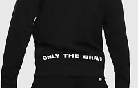"Diesel Loungewear ""Only The Brave"" Mens Sweater Size UK Large Black *REF17"