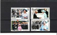 TUVALU - SG1000-1003 MNH 2001 101st BIRTHDAY QUEEN MOTHER