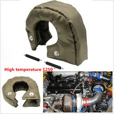 UNIVERSAL T3 Titanium Turbo / Turbocharger Heat Shield Blanket Cover Wrap