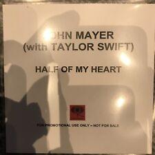 JOHN MAYER & TAYLOR SWIFT - HALF OF MY HEART RARE COLUMBIA RECORDS CD PROMO
