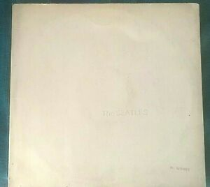 THE BEATLES 33 RPM WHITE ALBUM PMCQ 31514 FIRST PRESS ITALY  MONSTER RARE EX
