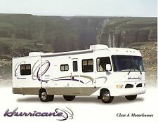 Prospekt brochure USA Four Winds Hurricane Motorhome 2003 Reisemobil Wohnmobil