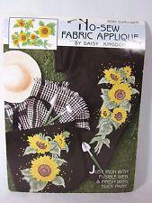 Applique Patchwork Daisy Kingdom No Sew Fabric Sunflower 6282
