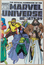Official Handbook of Marvel Universe Update '89 #6 [Prowler to Serpent Society]