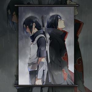 NARUTO Itachi Uchiha Anime Manga Wallscroll Poster Kunstdrucke Bider Drucke