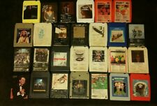 (27) 8 TRACK TAPES Beatles Led Zeppelin Kiss The Who Beach Boys Rolling Stones