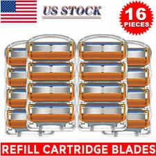 16Pcs Shaver Blades for Gillette Fusion Razor Blades Cartridges Men Care 5-layer