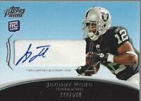 2010 Topps Prime Rookie Autographs #PARJF Jacoby Ford Auto /599 - NM-MT