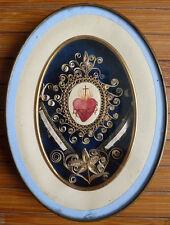 Reliquaire Sacré Coeur  relique de Sainte Ursule St François de Sales  reliquary