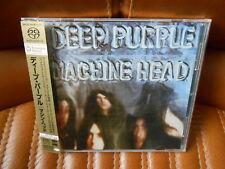 DEEP PURPLE - MACHINE HEAD - SACD - JAPAN - OBI