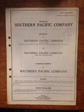 July 24, 1962 Southern Pacific Company Passenger Tariffs