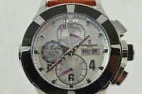 Philippe Charriol C46 Grand Celtica Automatique Chronographe + Papiere comme
