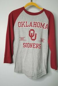 Pro Edge Womens S University Of Oklahoma State Sooners 3/4 Sleeve T Shirt