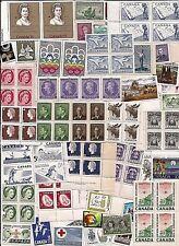 vintage CANADA Canadian postage stamps w some older lot C55C ** MNH