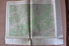Carte de France 1/25000 Privas n° 3-4. Institut Géographique National. 1957