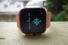 Fitbit Versa Smartwatch Activity Tracker Peach/Rose Gold Aluminum