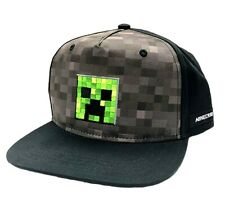 8e198e08a39d7 Hat Minecraft - Creeper Inside Youth Snapback Cap Hat Bioworld