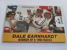 1994 Action Packed #32 Dale Earnhardt : Winner of 6 '93 races