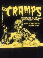 The Cramps black rock band T Shirt Rock Tee Metal pop unisex