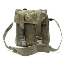 German Army Bundeswehr Bag Flecktarn Camo German Flecktarn Haversack With Strap